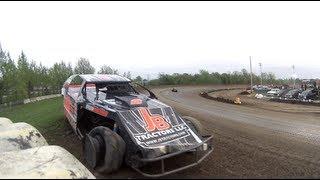 2013-05-26 Viking Speedway Midwest Mod Bitzan / Bangsund spin