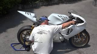 700 cc 2 strokes 3cylindre Mise en route 1 juin 2014