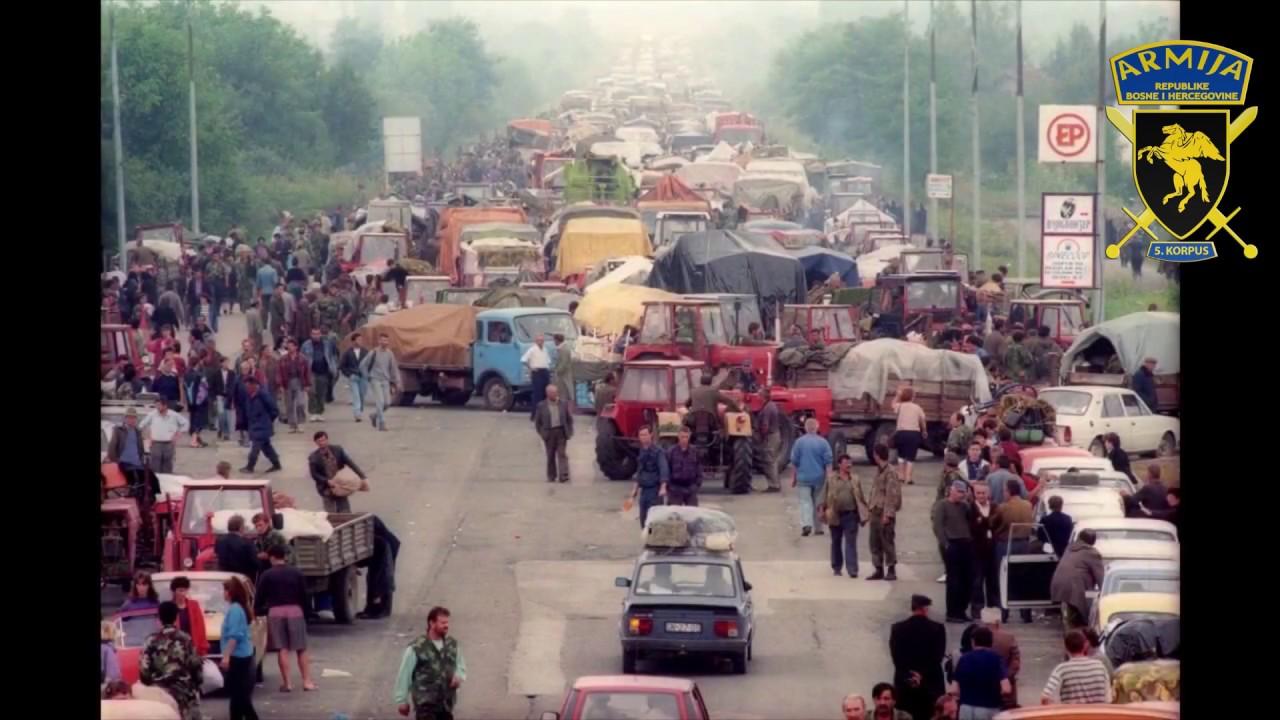 Banja Luka 1995.godina panika i bježanje - YouTube