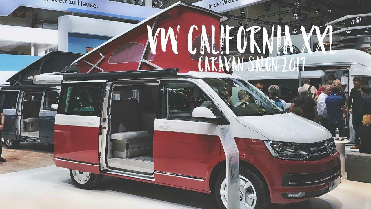 Vw california xxl caravan salon 2017 youtube for Condition salon vw