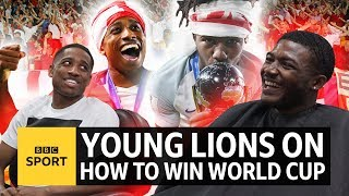 How do you win a World Cup? Young Lions Kyle Walker-Peters & Ainsley Maitland-Niles know - BBC Sport