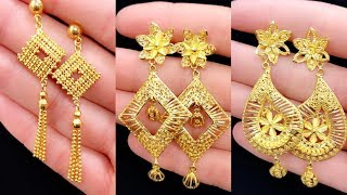 Latest Gold Designer Earrings Collection