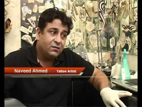 Special Report by Pernia Khan   Tattoo Culture In Lahore Express 24 7