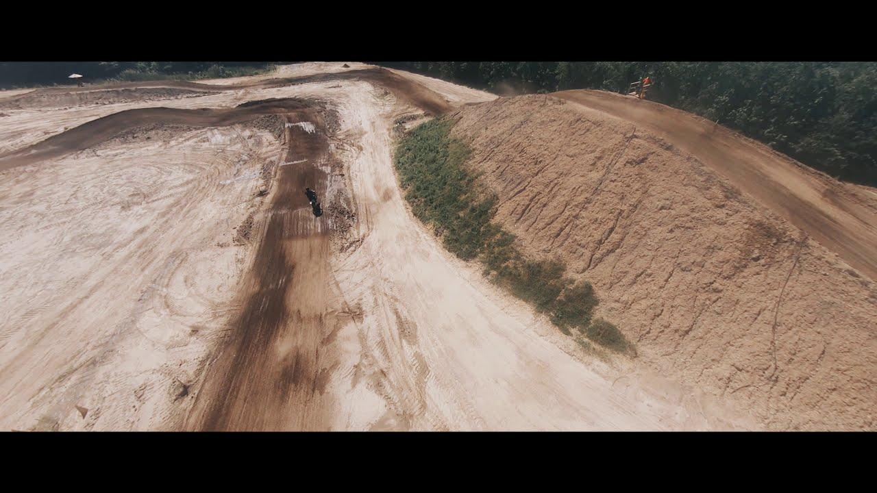 FPV Racing Drone |X| KTM 450cc - [ DraftBees ft. Trey Razz ] - Motocross фото