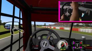 Formula Truck + G27 Onboard Volvo Clay Truck Racing HD1080P Gameplay