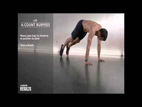 Burpee para principiantes