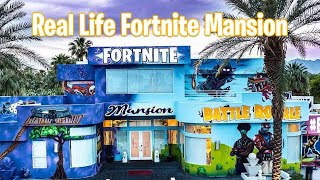 REAL LIFE FORTNITE MANSION #GraffitiMansion