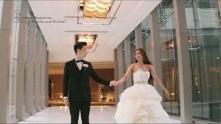 Krystle and Michael: A Wedding at Shrine of St. Therese, Newport