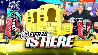 OMG FIFA 20 IS HERE!!!! FIFA 20 PACK OPENING!