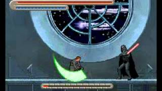 Star Wars Trilogy: Apprentice of the Force (GBA) - Part 20: Final Battle With Vader