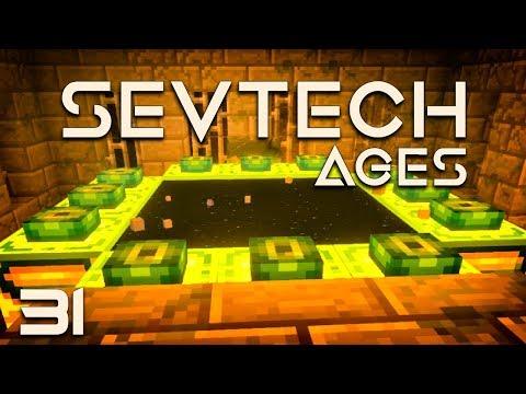 SevTech: Ages EP31 End Dragon Air Battle + Unbreakable Shuriken