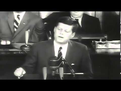 President Kennedy Challenges NASA to Go to the Moon