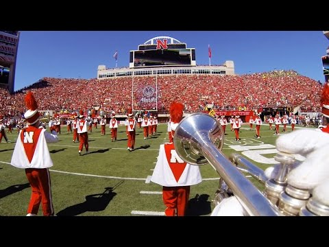 Nebraska Football Pre-Game (Trumpet Cam)