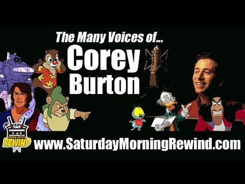 COREY BURTON: The Many Voices  Characters of Cartoon Voice Actor