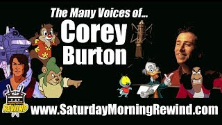 COREY BURTON: The Many Voices / Characters of (Cartoon Voice Actor)