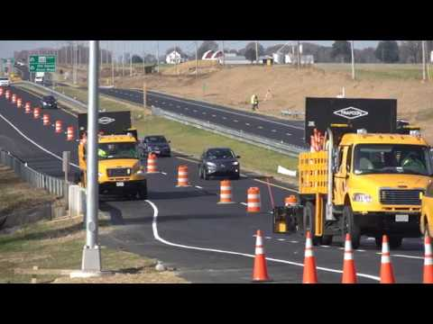 MD 404 highway widening project video from MDOT SHA