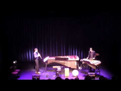 Duet for Clarinet and Vibraphone by Arend Gerds (Duo Wolfs/KleinJan)