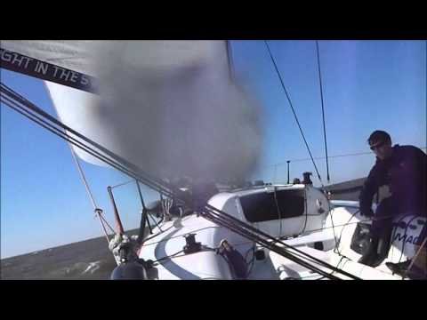 2011 LPRC Slidell to New Orleans on the Melges 32 Rougarou