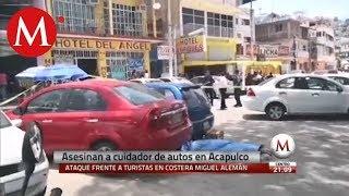 Asesinan a cuidador de autos en Acapulco