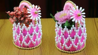 DIY Flower Vase For Home Decor - How to make flower vase || Best out of waste - Best reuse ideas