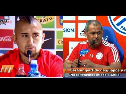 """Mirá el """"Mano a Mano"""" entre el Chiqui y Arturo Vidal"""
