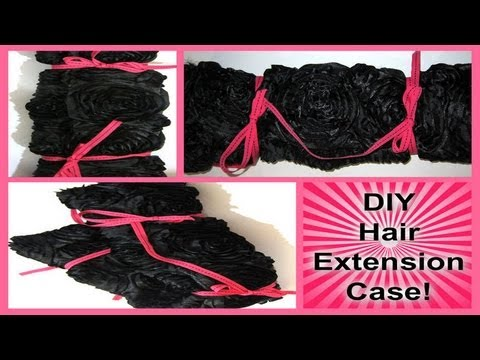52 weeks of beauty 2013 week 15 diy hair extension case no 52 weeks of beauty 2013 week 15 diy hair extension case no sewing contest closed youtube pmusecretfo Image collections