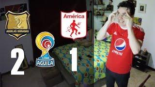 Reacciones rionegro aguilas 2 vs america de cali 1 | liga aguila 2018