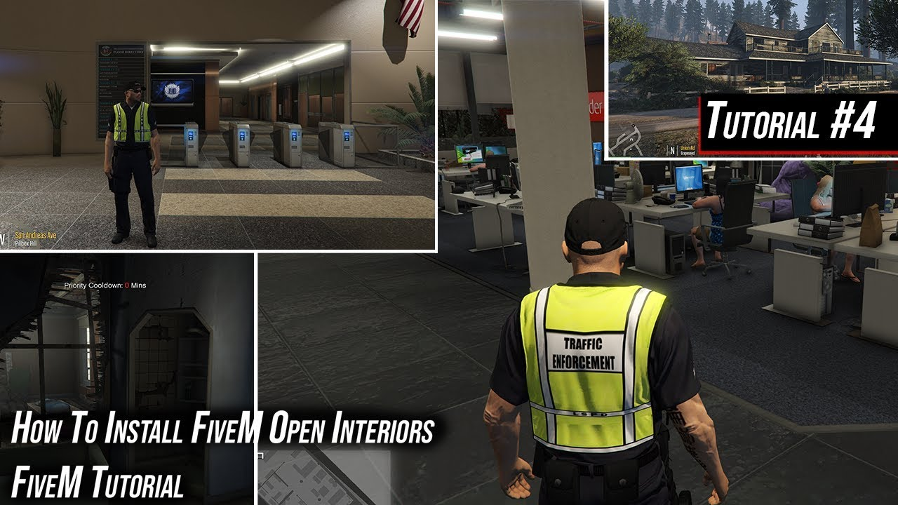 FiveM Tutorial | How to Install Open Interiors