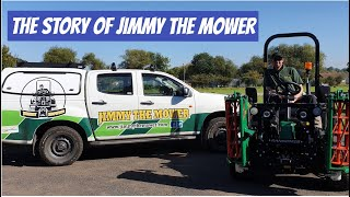 The Jimmy the Mower story - Ransomes and Mowing Wembley on BBC Midlands and One Show #patchoftheday