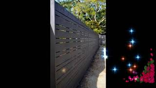 Best Wooden Fence Ideas, Wooden Fence Ideas For Beautiful Home, Exterior Backyard Design Ideas #5
