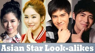 10 Pinoy Celebrities and their Asian Star Look-alikes