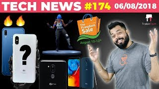 Honor Play, Mi 8X, LG G7+ Thinq, LG Q8, Flipkart Freedom Sale, Pixel 3 XL, Fortnite, Oppo A5-TTN#174
