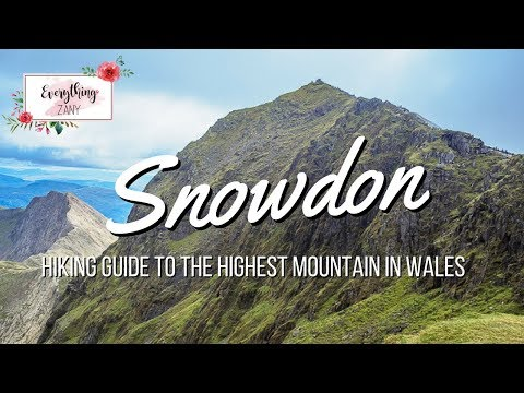 Snowdonia: Hiking Guide to the Highest Mountain in Wales (UK)