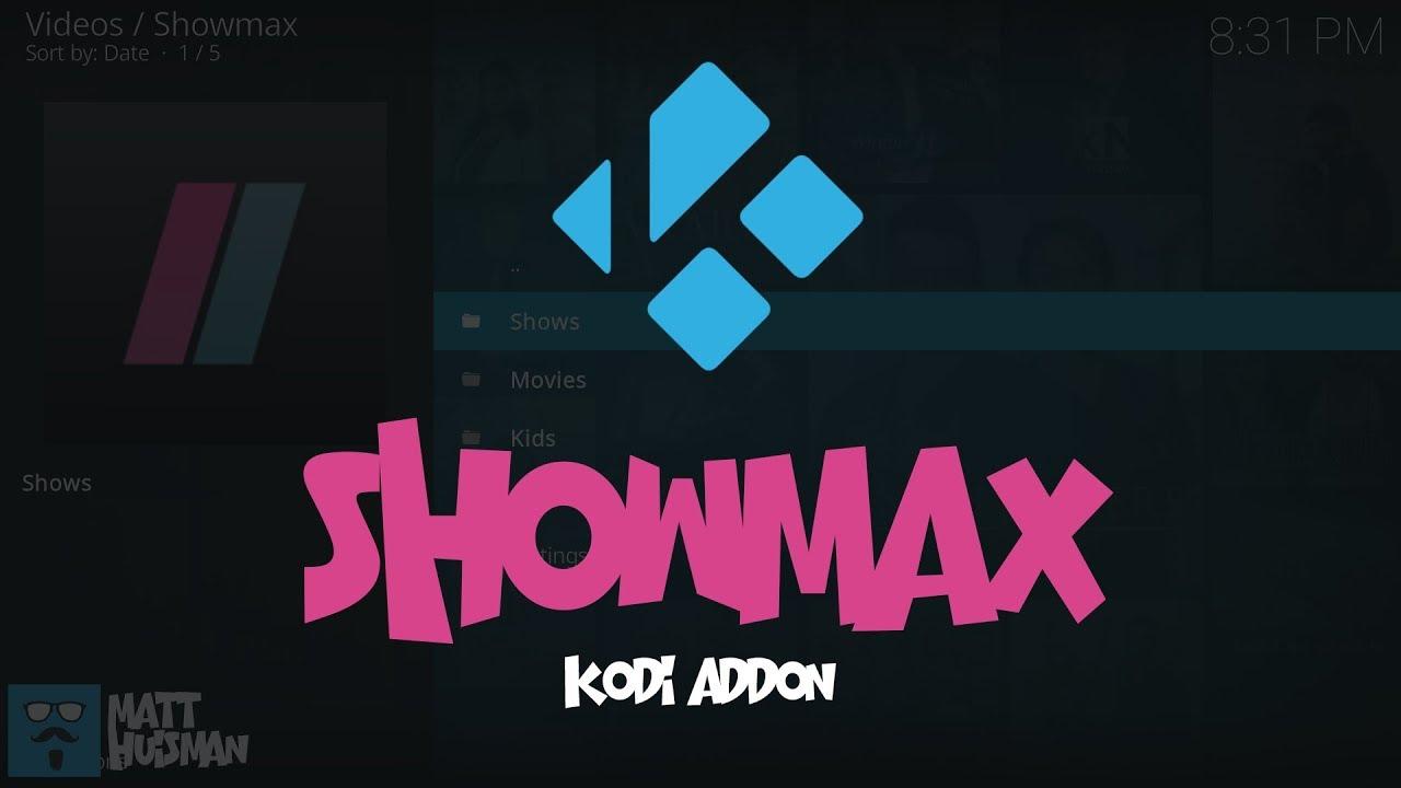 Showmax Kodi Add-on