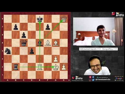 Vidit on his match with Xiong, declining the draw, Illegal moves, India no.2, Sochi and Social Media
