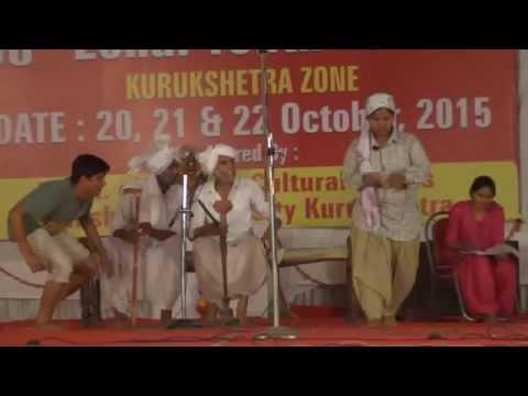 Govt College KAITHAL  Youth Festival 2015  Haryanvi  Skit-I