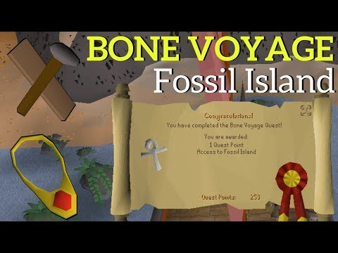 Bone Voyage Quest Guide, How to Build the Camp & Fossil Island Teleport
