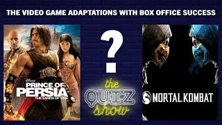 Video game adaptations with box office success | The Quiz Show
