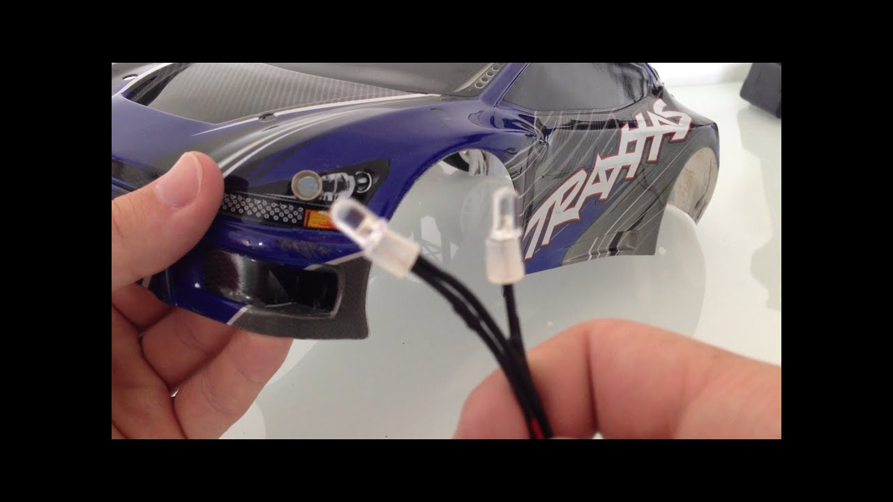 medium resolution of how to install rc lights on to your body and connect to the receiver