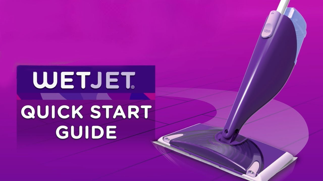 How to use a Swiffer WetJet Quick Start Guide  Swiffer