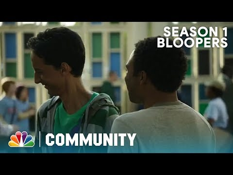 Season 1 Bloopers And Outtakes Part 2 - Community (Exclusive)