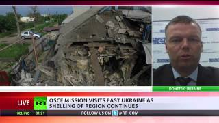 'Donetsk rebels threaten to kill OSCE monitors' - Deputy chief monitor Hug to RT