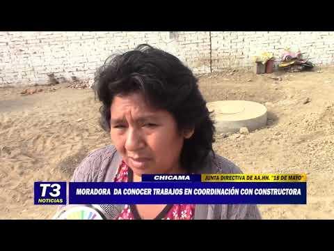 MORADORA DA A CONOCER TRABAJOS EN COODINACIÓN CON CONSTRUCTORA