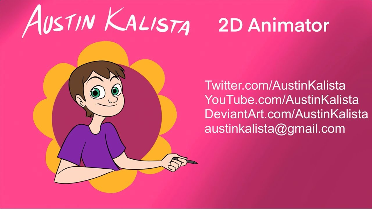 Austin Kalista 2D Animation Demo Reel 2020