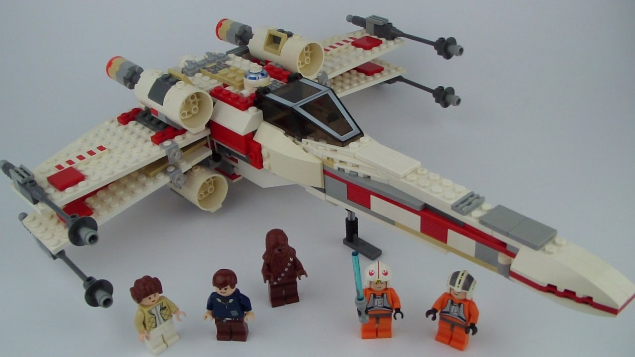 STAR WARS LEGO MINIFIGURE LUKE SKYWALKER PILOT FROM SET 6212 X-WING STARFIGHTER