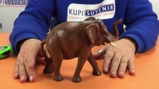 Видеообзор статуэтки «Деревянный слон»