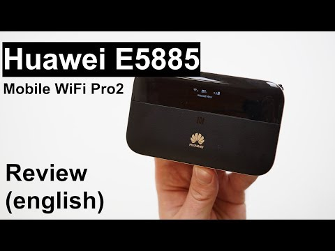 Review: Huawei E5885 Mobile WiFi Pro2 (english) - YouTube
