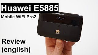 Review: Huawei E5885 Mobile WiFi Pro2 (english)