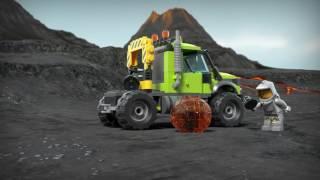 LEGO® City - 60124 Baza badaczy wulkanów