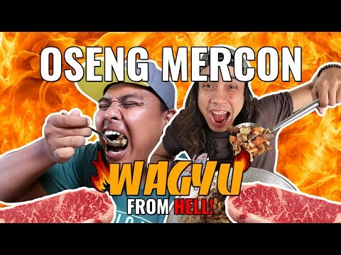 WAGYU OSENG MERCON DARI NERAKA!!! GERRY GIRIANZA ft. BLACK | AYO MAKAN